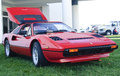Ferrari gts spartanburg sc � oct sports car on display at the euro auto festival at the bmw auto zentrum on oct in greer sc usa Stock Photography