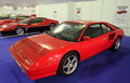 Ferrari mondial at the exhibition in estepona july andalusia spain Stock Photo