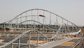 Ferrari world roller coaster Stock Photo