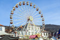 Ferries wheel at the 24th Barbarossamarkt festival in Gelnhausen