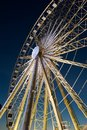 Ferris wheel at albert dock night Stock Photos