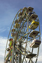Ferris Wheel - Amusement park ride Stock Photography