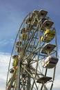 Ferris Wheel - Amusement park ride Royalty Free Stock Photo