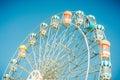 Ferris wheel. Royalty Free Stock Photo