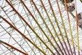 Ferris wheel, big wheel metal construction