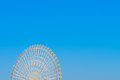 Ferris wheel with blue sky Royalty Free Stock Photography