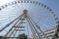 Ferris wheel Budapest Royalty Free Stock Photo