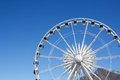 Ferris Wheel at the Cape Town Waterfront Stock Images
