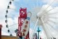 Ferris Wheel in Clifton Hill, Niagara Falls, Ontario Royalty Free Stock Photo