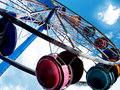 Ferris wheel colorful in the sky Royalty Free Stock Photography