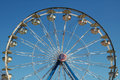 Ferris Wheel at County Fair Royalty Free Stock Photography
