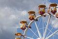 Ferris wheel detail - RAW format Royalty Free Stock Photo
