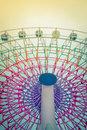 Ferris wheel filtered image processed vintage effect Royalty Free Stock Photos