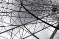 Ferris wheel framework detail of a Stock Image