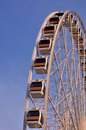 Ferris wheel in the gloaming light Stock Photography