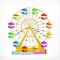 Ferris wheel icon Royalty Free Stock Photo