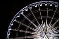 Ferris wheel with lighting at night asiatique thailand Royalty Free Stock Photo