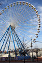 Ferris wheel at Lyon Royalty Free Stock Photo