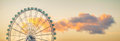 The Ferris Wheel of Malaga Royalty Free Stock Photo