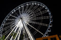 Ferris wheel at night Royalty Free Stock Photo