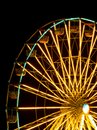 Ferris wheel the at night Royalty Free Stock Photography