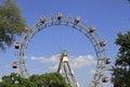 Ferris wheel - Prater, Vienna Royalty Free Stock Photo