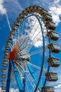 Ferris wheel Riesenrad on the Oktoberfest in munich/germany wi Royalty Free Stock Photo