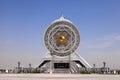 Ferris wheel on a sky as a background,  Ashkhabad. Turkmenistan. Royalty Free Stock Photo
