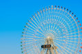 Ferris wheel with sky blue Stock Photography