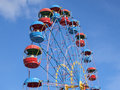 Ferris wheel in the summer morning Royalty Free Stock Photo