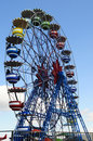The ferris wheel on Tibidabo, Barcelona Royalty Free Stock Photos