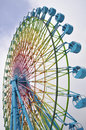 Ferris Wheels in Otaru Stock Images