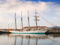 FERROL, SPAIN - FEBRUARY 16: Spanish Navy Training Ship, Juan Se Royalty Free Stock Photography