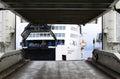 Ferry docks in Puttgarden port, Germany Royalty Free Stock Photo