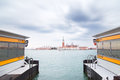 Ferry of Venetian Lagoon Stock Image