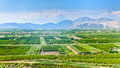 Fertile valley in mountains of montenegro europe Stock Photos