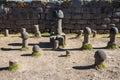 Fertility temple peruvian Andes at Puno Peru Royalty Free Stock Photo