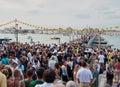 Festa del Redentore-Venice, Italië Royalty-vrije Stock Fotografie