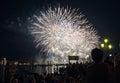 Festa del Redentore-Venice, Italië Stock Foto