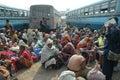 Festival de Gangasagar em India. Imagens de Stock