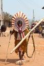 Festival de otuo ukpesose a uit masquerade em nigéria Foto de Stock Royalty Free