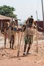 Festival de otuo ukpesose a uit masquerade em nigéria Fotografia de Stock