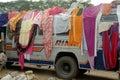 festival gangasagar india Arkivfoton