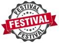 Festival stamp