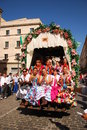 Festivals - The El Rocio Pilgrimage Stock Images