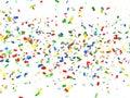 Festive Background Of Confetti