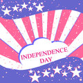 Festive background for independence day july u s the with the national flag Royalty Free Stock Photography
