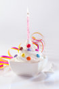 Festive and Birthday Dessert Stock Images