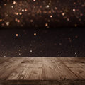 Festive Christmas background with shimmering light Royalty Free Stock Photo