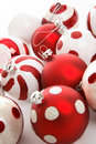 Festive Christmas Balls Royalty Free Stock Image
